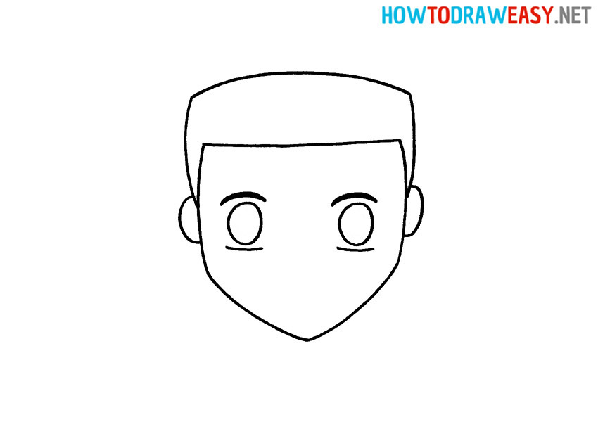 How to Draw an Easy Anime Face