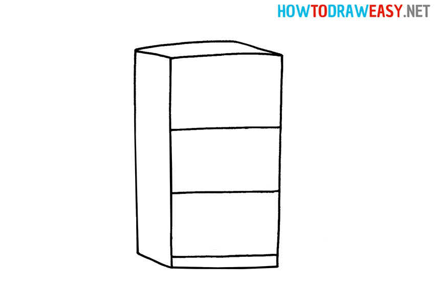 How to Draw an Easy Refrigerator