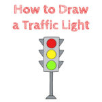 How to Draw a Traffic Light for Kids