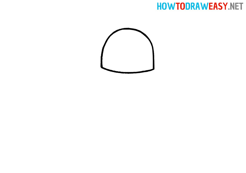 How to Draw an Easy UFO