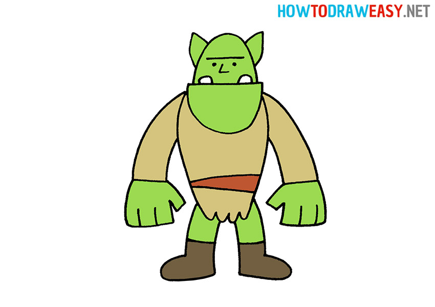 How to Draw an Orc