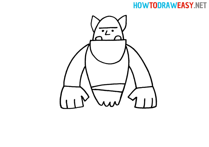 Orc How to Draw