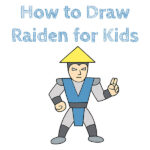How to Draw Raiden for Kids