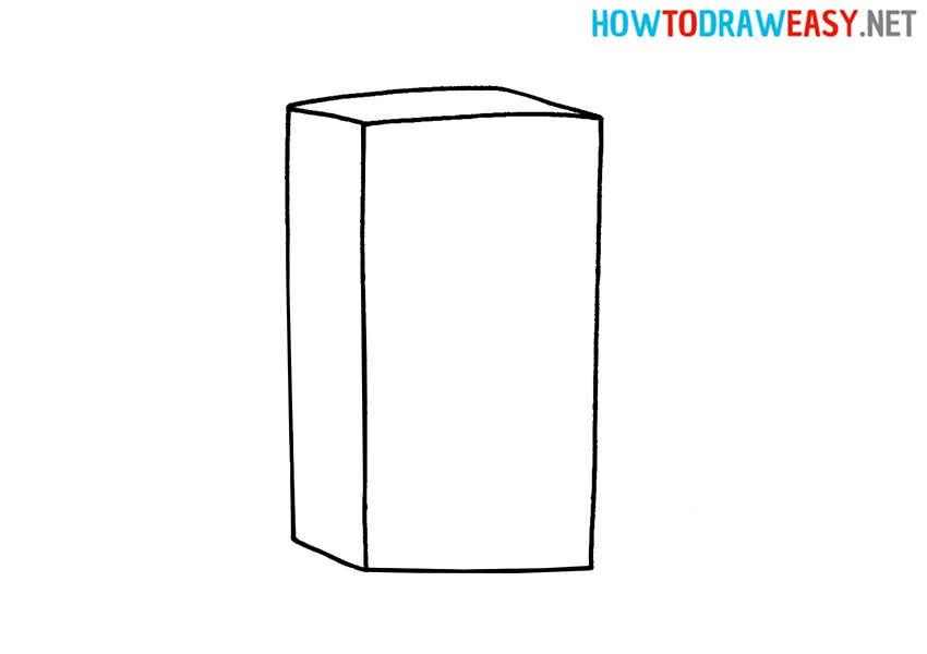 Refrigerator How to Draw