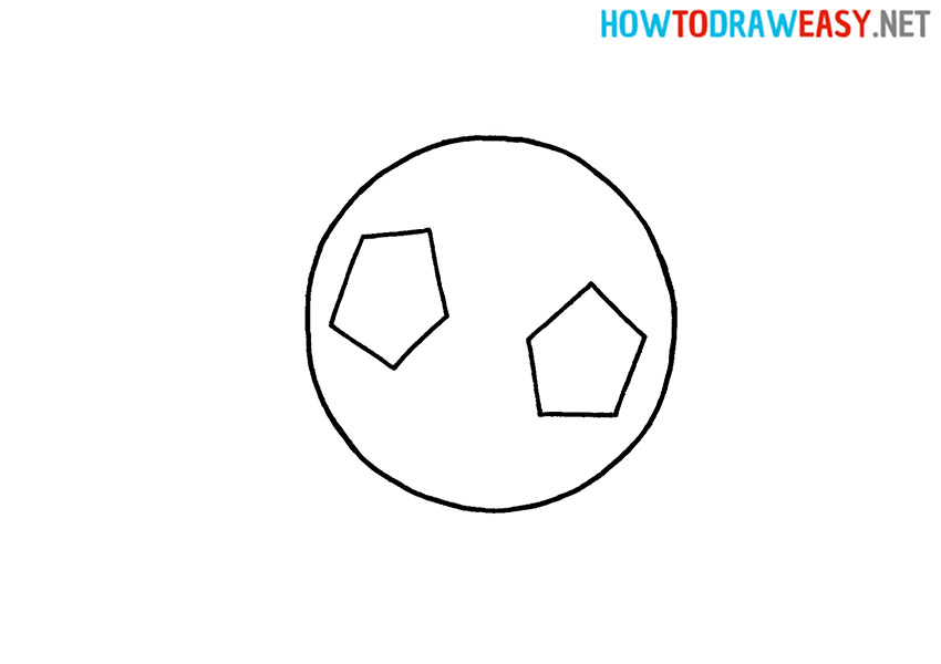 Soccer Ball Drawing for Kids