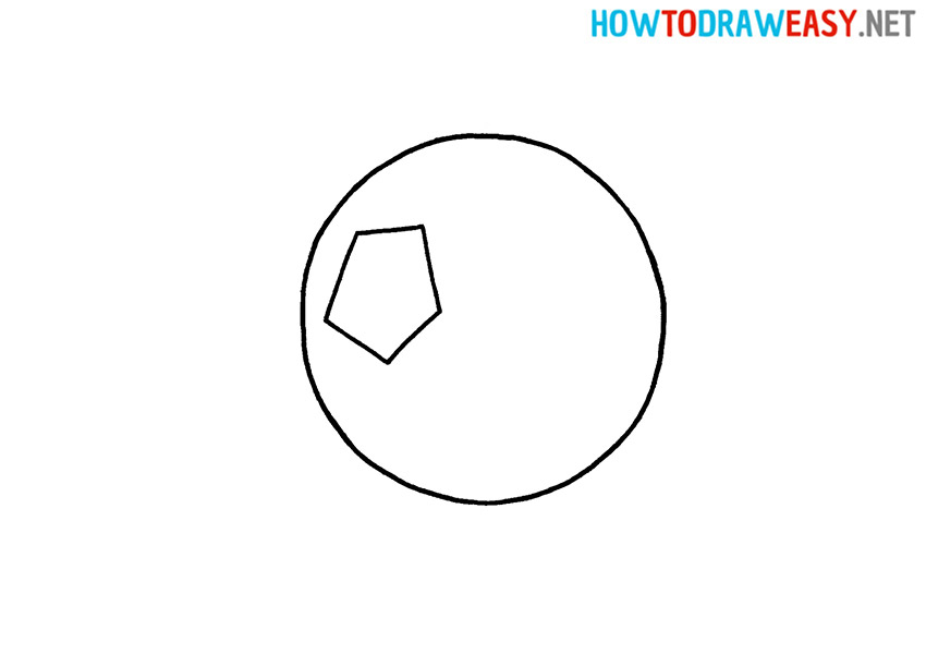 Step by Step Soccer Drawing