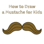 How to Draw a Mustache for Kids